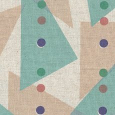 Jubilee Triangles Blue Jubilee is a lovely contemporary Japanese design printed on medium home decorating weight cottonlinen blend . Please Click the image for more information.