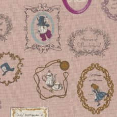 Alice in Wonderland Large Dusty Pink Alice in Wonderland is a classic and favourite fable amongst children around the world This quaint Alice in Wonderland fabric is sure to light up little faces no matter the project Printed on a medium weight cottonlinen blend this design will work well for home decorating projects for nurseries and bedrooms or for apparel quilting bags etc. Please Click the image for more information.