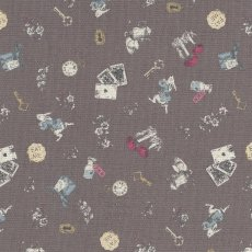 Alice in Wonderland Small Charcoal Alice in Wonderland is a classic and favourite fable amongst children around the world This quaint Alice in Wonderland fabric is sure to light up little faces no matter the project Printed on a medium weight cottonlinen blend this design will work well for home decorating projects for nurseries and bedrooms or for apparel quilting bags etc. Please Click the image for more information.