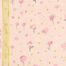 Nani IRO Poppy Trip Hanatsumi Double Gauze  Nani IRO Poppy Trip by talented Japanese designer Naomi Ito is an exquisite floral  printed on a lovely incredibly soft double gauze . Please Click the image for more information.