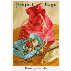 Project Bag - Sewing Card These drawstring bags are great for knitting  sewing projects or as gifts Please Click the image for more information.