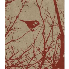 Kristen Doran Winter Nest Red Panel Inspired by a birds nest in a neighbourhood tree Kristen Doran designed this exquisite Winter Nest L. Please Click the image for more information.
