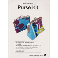 Nicole Mallalieu 90mm Purse Frame Kit Nicole Mallalieu 90mm Purse is the perfect size for a lipstick coins and a few essentialsKIT CONTAINS a full size pattern detailed intructions and one 90mm silver square purse frame YOU WIL. Please Click the image for more information.