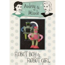 Audrey & Maude Robot Boy & Robot Girl Coming to you from a galaxy far away Robot Boy and Robot Girl are a super space team ready to take you on lots of exciting adventures across the universeAdorable softies that will delight your children Please Click the image for more information.