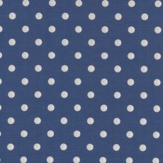Sevenberry Medium Dot White on Royal Blue  Please Click the image for more information.