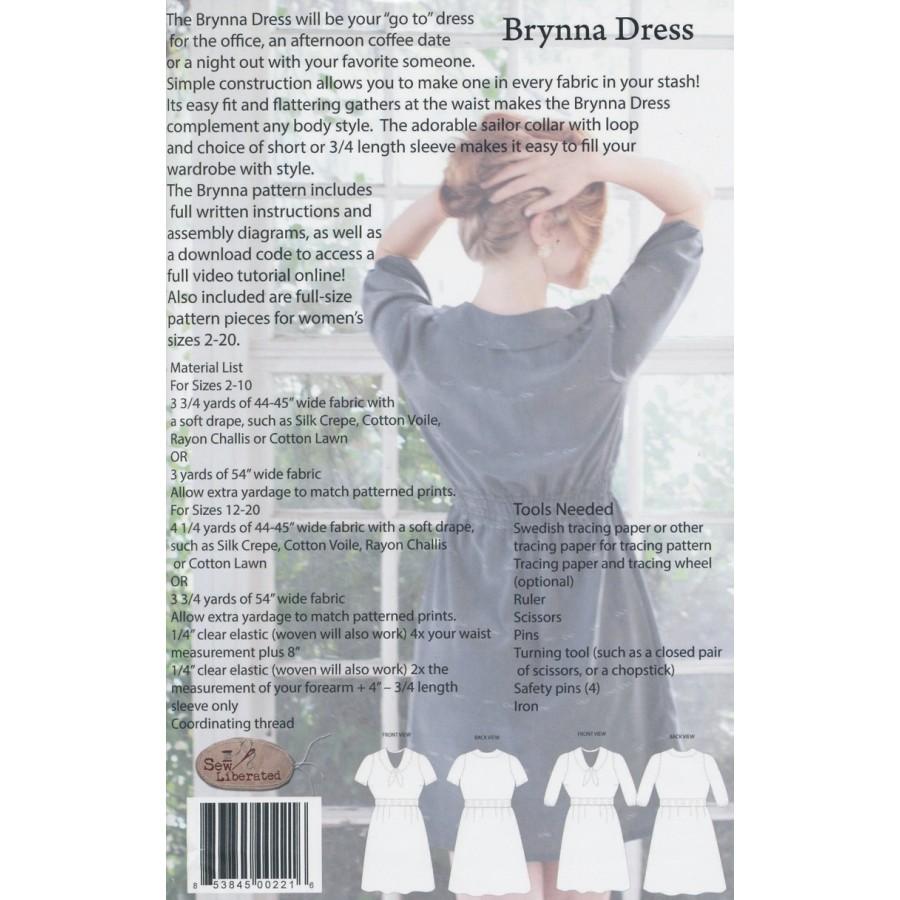 Sew Liberated Brynna Dress | Sew Liberated | Fabrics to Inspire ...