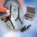Longacre Digital Camber Caster Gauge - Acculevel & Adaptor Supplied with QuickSet adapter and a silver carrying case As an additional benefit the AccuLevel digital readout can be removed and used separately as a digital angle finder for suspension spoiler angles and many other things QuickSet. Please Click the image for more information.
