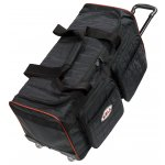 Bell Trolly Gear Bag Medium - Black Transport your racegear with style and protection with medium sized racing gear bag This bag features   High quality quilted outer shell      External accessory pockets   Internal accessory pockets   Washable Inner Liner   Retractable telescopic handle   Wheelscall for availability Please Click the image for more information.