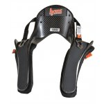 Hans Device - Pro Ultra Series  FIA 88582010 homologated Great Value Supplied with sliding tethers The most popular head  neck restraint in the world Lightweight  Approximately 655g All carbon prepreg construction Available as 20 degree Sizes available Medium  Large Helmet anchor posts not included Please Click the image for more information.
