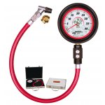 """Longacre 3.5"""" 0-40psi Magnum Tyre Gauge The Longacre analog gauges range have sharp looking graphics and use a more durable mechanism to withstand tough racing use and still maintain accuracy. Please Click the image for more information."""