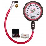 """Longacre 3.5"""" 0-60psi Magnum Tyre Gauge The Longacre analog gauges range have sharp looking graphics and use a more durable mechanism to withstand tough racing use and still maintain accuracy. Please Click the image for more information."""