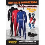 RPM TRACK DAY PACKAGE  RPM SPRINT SUIT RED BLUE BLACK RPM START GLOVES RED BLUE BLACK RPM INDY3 SHOES BLACK ONLY Please Click the image for more information.