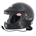BELL HP9 RALLY HCB CARBON  Open face helmet with Super high strength carbon composite shell Adjustable sun peak with antidazzle strip High quality intercom system and builtin noise reducer ear protection Special soft earmuffs with ultrathin speakers integrated for maximum isolation and safety Half chin bar and adjustable boom for perfect positioning of noise cancelling microphone to ensure superior sound quality and comfort Factory fitted FHR posts as original equipmentFIA 88602010 Advanced Helmet certified and SA2015 approved Please Click the image for more information.