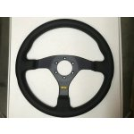 SL S/W Comfort 350mm Leather Black 3 spoke This wheel is a fantastic addition to your race car It features a classic style and smooth  simple design with a leather finish. Please Click the image for more information.