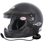 BELL MAG 9 RALLY HCB CARBON  Open face helmet featuring ultralightweight carbon shell Adjustable sun visor peak with antidazzle strip High quality intercom system and builtin noise reducer ear protection Special s. Please Click the image for more information.
