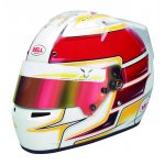 BELL KC7-CMR HAMILTON 2019  Ultra lightweight helmet featuring a CarbonGlass shell 1185g in sizes 54 till 56 and 1230g in sizes 57 till 59  3 Very attractive style based on HP7 used in F1 Graphic desi. Please Click the image for more information.