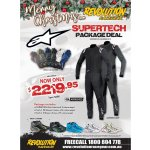 XMAS SPECIAL- SUPERTECH PACKAGE DEAL Package Includes ALPINESTARS SUPERTECH SUIT ALPINESTARS TECH 1 ZX RACE GLOVES ALPINESTARS TECH 1 Z SHOES Boots Please Click the image for more information.