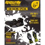RPM Indy 3 Boots RRP $199 Suede outer Nomex lining with moulded solePuma Kart Cat II Gloves RRP $89 Pre curved design silicone printed grip external seams. Please Click the image for more information.