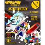25 off for car prep items Please Click the image for more information.
