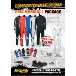Mondial Package RPM MONDIAL 2 RACESUIT SIZE 4664NXR UNDERWERA SIZE 2XS3XLNXR BALACLAVA SIZE OSFARPM START GLOVES SIZE S3XLSOCKS SIZE SLRPM INDY3 BOOTS SIZE 3649 Please Click the image for more information.