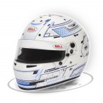 BELL RS7-K STAMINA WHT/BLUE The Bell RS7K is a karting specific helmet based on the same design as the HP7 used by F1 drivers Constructed using a lightweight composite shell with a 3mm double screen anti fog visor for perfect visibility in all conditions L. Please Click the image for more information.