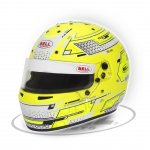 BELL RS7-K STAMINA YELLOW The Bell RS7K is a karting specific helmet based on the same design as the HP7 used by F1 drivers Constructed using a lightweight composite shell with a 3mm double screen anti fog visor for perfect visibility in all conditions L. Please Click the image for more information.