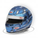 BELL KC7-CMR CHAMPION BLUE The Bell KC7CMR is a karting specific helmet based on the same design as the top of the range HP7 carbon helmet as used by some F1 drivers C. Please Click the image for more information.