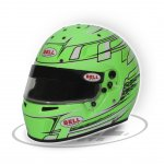 BELL KC7-CMR CHAMPION GREEN The Bell KC7CMR is a karting specific helmet based on the same design as the top of the range HP7 carbon helmet as used by some F1 drivers C. Please Click the image for more information.