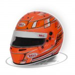 BELL KC7-CMR CHAMPION ORANGE The Bell KC7CMR is a karting specific helmet based on the same design as the top of the range HP7 carbon helmet as used by some F1 drivers C. Please Click the image for more information.