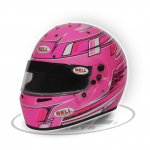 BELL KC7-CMR CHAMPION PINK The Bell KC7CMR is a karting specific helmet based on the same design as the top of the range HP7 carbon helmet as used by some F1 drivers C. Please Click the image for more information.