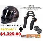 HELMET AND HANS PACKAGES Racelid Helmet and HANS packages multiple helmets to choose from Please Click the image for more information.