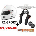 BELL HELMET AND HANS PACKAGES Helmet and HANS packages multiple helmets to choose fromBell R1Sport  HANS III 20  HANS post  $1195Bell MAG 1  HANS III 20  HANS post  $1055Bell GP3  HANS III 20  HANS post  $1460Bell MAG 1 Rally  HANS III 20  HANS post  $1265Bell BR1  HANS III 20  HANS post  $1385 Please Click the image for more information.