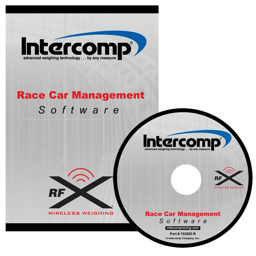 Race Car Management Software CD   Intercomp Racing   Revolution Racegear