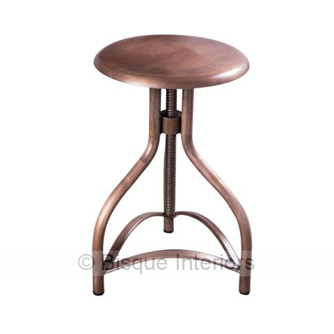Iron Stool Adjustable