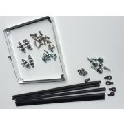 """Parachute Pack Mount Kit 7"""" x 7"""" Single Parachute Pack mount Kit Billet Alloy 6061 T6  7 x 7 Frame Tube Mounting Tabs38  14 Moly Tube Rod Ends Jam Nuts Billet Alloy Body Mounts Stainless B. Please Click the image for more information."""