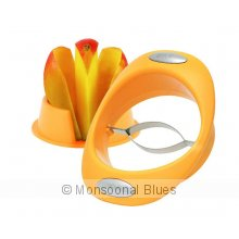 Avanti Mango Cutter/Pitter You will never use a knife on a mango again This is the easiest quickest and neatest way to get the cheeks off a mango O. Please Click the image for more information.