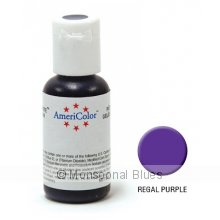 Americolor Soft Gel Paste - Regal Purple Soft Gel Paste has the colouring power of a paste in an easytouse gel that creates deeper more vibrant tones It. Please Click the image for more information.