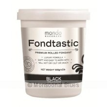 Mondo Fondtastic Premium Rolled Fondant - Black The Fondtastic Premium Rolled Fondant by Mondo is a quality non stick pliable fondant icing that produces a smooth elegant finish I. Please Click the image for more information.