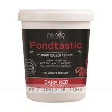 Mondo Fondtastic Premium Rolled Fondant - Dark Red The Fondtastic Premium Rolled Fondant by Mondo is a quality non stick pliable fondant icing that produces a smooth elegant finish I. Please Click the image for more information.