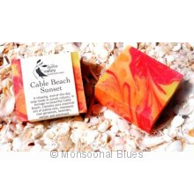 Hidden Valley Cable Beach Sunset Soap Locally hand made in Broome  These soaps are firm mild creamy and moisturising with rich lather even in hard water . Please Click the image for more information.