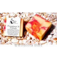 Hidden Valley Frangipani Soap Locally hand made in Broome  These soaps are firm mild creamy and moisturising with rich lather even in hard water. Please Click the image for more information.