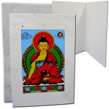 Ratna Sambhava Buddha Card  Ratna Sambhava Buddha represents the cosmic element of form rupaHand made paper with envelope This is one piece of paper the graphic displays the blank inside Set of. Please Click the image for more information.