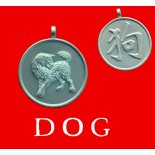 Year of the Dog round Double Sided Character/Chinese Calligraphy Pendants Year of the Dog round Double Sided CharacterChinese Calligraphy Pendants Please Click the image for more information.