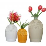 Cute Owl vase or pencil holder And another cute Owl vase or pencil holder small yet very versatile As you can see by our suggestions lots of ways to personalise these little beautiesMak. Please Click the image for more information.