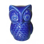 Owl in French Blue finish A very decor friendly French Blue ceramic Owl Please Click the image for more information.