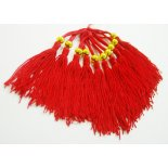red tassels with round bead red tassels with round beadBag of TEN tasselsThis means two packets of ten for the price of one packet Please Click the image for more information.