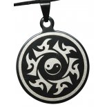 Yin Yang Circle Pendant, Black, 30mm Yin Yang Circle Pendant Black 30mm Please Click the image for more information.