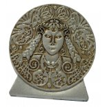 Brigid Statue, Metal Grey, 40mm Brigid Statue Metal Grey 40mmGoddess of Poetry Fertility and HealingThe pagan Goddess Brigid is one of the most ancient Goddesses of the Celtic world  She sym. Please Click the image for more information.