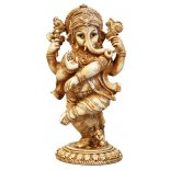 Dancing Ganesha Statue, Antique Ivory, H:  295 x W: 150mm Dancing Ganesha Statue Antique Ivory  H  295 x W 150mm Please Click the image for more information.