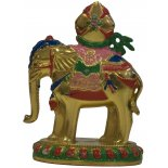 Elephant Statue, Brass, Handpainted (paintwork shabby) Elephant Statue Brass Handpainted  paintwork shabby H  85mm x W  65mm  Limited Supply Please Click the image for more information.